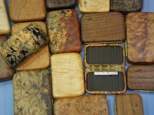 銘木のフライボックス その2