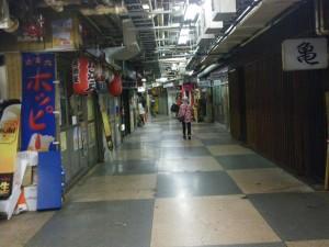日本一古~い、昔ながらの銀座線の地下通路の朝